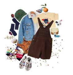 """scuffy shoes"" by abundanceoffreckles ❤ liked on Polyvore featuring art"