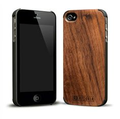 Recover Wood Case! Available in Bamboo, Zebrawood, Rosewood, Ebony, Walnut, and Wenge/Maple    For the iPhone 5 and iPhone 4/4s.