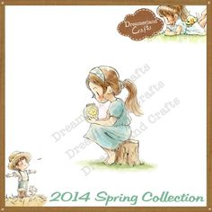 Dreamerland Crafts Cling Stamp - SPR14 Thinking Of You