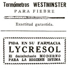 #InstaBox termómetros #vintage #1920 #ads