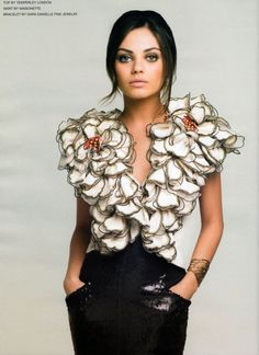 Mila Kunis - Flower Child
