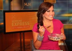 Eat Like A Star: Morning Express' Robin Meade : Want to look like a star? Have what they're having! Every Tuesday, we'll tell you what healthy breakfast helps our favorite stars kick off their day. This week, we talked to Robin Meade of Morning Express! #SelfMagazine