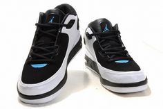 Air Jordan After Game Mens Shoes 01 Black White Blue will be eye-catching this year. It is designed for casual wear and built for comfort.