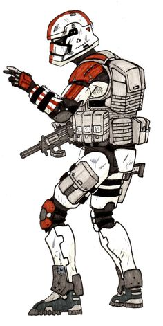 EP VII stormtrooper by halonut117 on DeviantArt