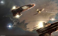 Find awesome high quality wallpapers for desktop and mobile in one place. Arte Sci Fi, Sci Fi Art, Mmorpg Games, Computer Video Games, Space Battles, Eve Online, High Quality Wallpapers, Sandbox, Games To Play