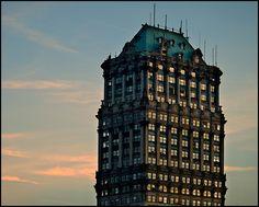 Book Tower in Detroit, Michigan.