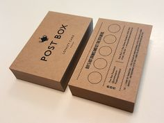 Just received some loyalty cards back that I designed for a newly opened cafe in a local town called Post Box.  I love working with print. These are printed digitally on 300gsm Kraft card, so pleas...