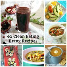January Clean-Up: 45  Whole-Foods, Vegan Detox Recipes