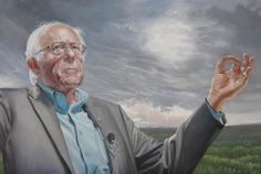 @BernieSanders I painted this picture for you. Just tell me where to send it, and I'll send it there.