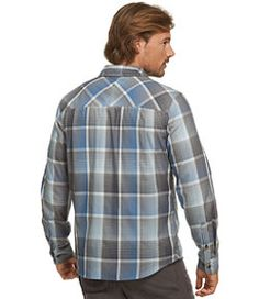 #LLBean: Flagstaff Performance Shirt, Plaid
