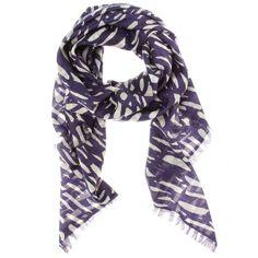 Tonda printed scarf