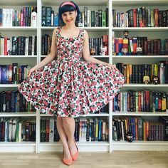 Floral gorgeousness! #modcloth #stylegalllery