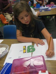 A day in first grade: Literacy Games