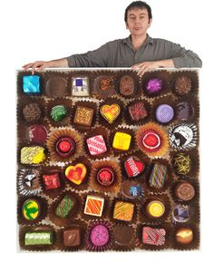 Renowned American artist and sculptor #PeterAnton --> whose primary subject matter is food with an emphasis on sweets and chocolates.. Yum!