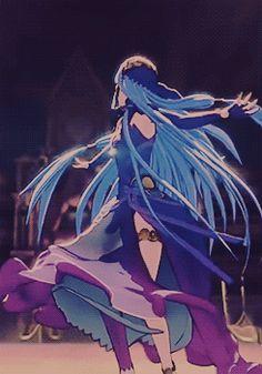 fire emblem : if . our mysterious dancer now has a name : aqua !
