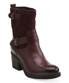 Burgundy Mojita Sorbet Ankle Boot #zulily #ad *Love the color