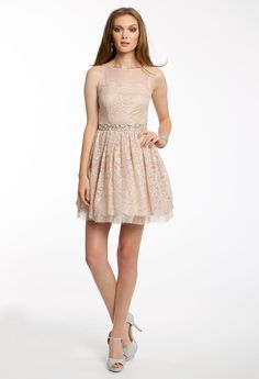 METALLIC LACE ILLUSI