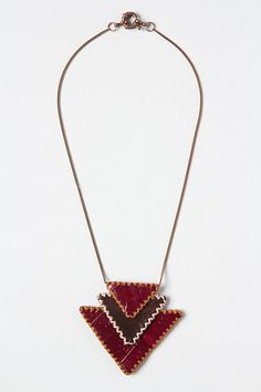 Pennypack Amulet Necklace - Anthropologie.com. this could perhaps be replicated....