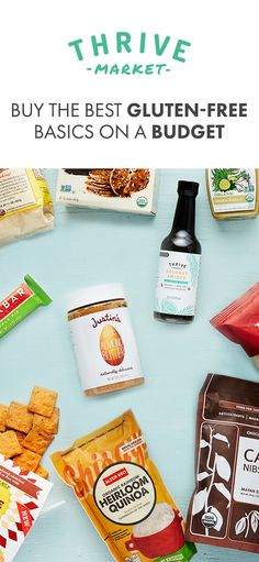 Looking for the best-selling gluten-free foods and products? At Thrive Market, we're committed to your good health and well-being. Shop the top gluten-free brands and items at 25-50% off retail every day! See how much you can save today!