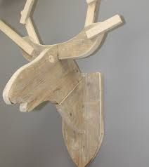 houten rendierkop - Google zoeken