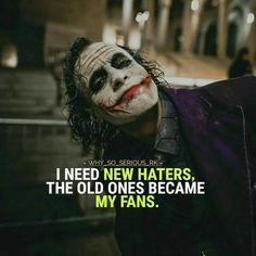 Joker Quotes memes Collection quotes memes jokes - Marvel Fan Arts and Memes Joker Qoutes, Best Joker Quotes, Badass Quotes, Best Attitude Quotes, Heath Ledger Joker Quotes, Joker Heath, Dc Memes, Funny Memes, Images Aléatoires