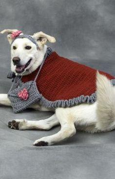 Diva Dog Free Crochet Pattern by Red Heart Yarns