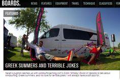 Greek Summers and Terrible Jokes