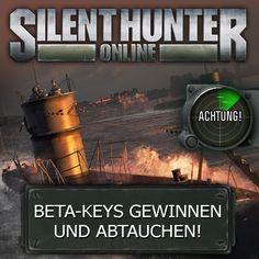 """Hier könnt ihr aktuelle Beta-Keys für das neue Onlinespiel """"Silent Hunter"""" gewinnen."""