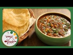 Chole Bhature | Recipe by Archana | Easy To Make | Authentic Punjabi Main Course in Marathi - YouTube