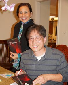 Year-end book signing.