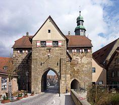 Nürnberg gate Germany