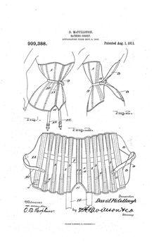 Bathing corset 1911