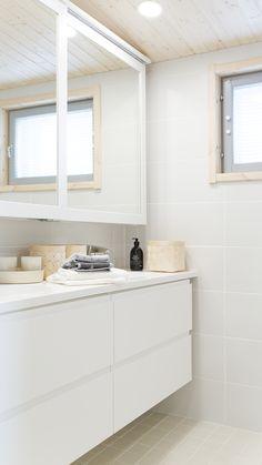 Private residence in Vantaa. Light Of Life, Double Vanity, Bathtub, Bathroom, Projects, Studio, Full Bath, Standing Bath, Washroom