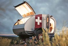 Ultimate solar-powered Vintage Overland Caravan will rock your off-road adventures | Inhabitat - Sustainable Design Innovation, Eco Architecture, Green Building