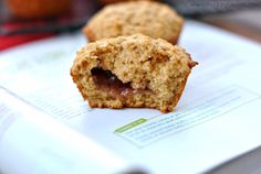 Peanut Butter and Jelly Muffins, the perfect breakfast, lunch, or snack idea!