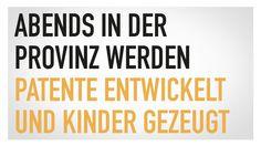 WiRO GmbH - DIE CREW AG Werbeagentur - Für die meisten Menschen ist Ostwürttemberg vor allem eines: Provinz. Wir beweisen das Gegenteil – indem wir mit Vorurteilen aufräumen und Fakten schaffen. #diecrew #Werbeagentur #Wiro #Kinder #Marketing #Patente #Kampagne #Provinz #Vorurteile #abends