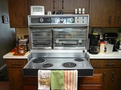 Dream Kitchen On Pinterest Retro Kitchens Double Ovens