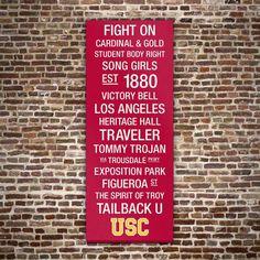 USC Trojans Wall Art