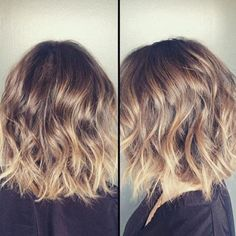 99 Amazing Wavy Bob Hairstyles, 10 Easy Wavy Bob Hairstyles with Balayage 2020 Female, 2020 Updated the 10 Easiest Wavy Bob Hairstyles with, 59 Stunning Wedding Hairstyles for Short Hair 50 Wavy Bob Haircuts for the Current Season Hair Adviser. Balayage Bob, Balayage Hair Brunette Short, Ombre Hair, Blonde Ombre, Short Medium Length Hair, Short Hair Cuts, Medium Hair Styles, Curly Hair Styles, Short Wavy