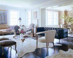 Anne Coyle and Nate Berkus Design Ideas - Chic Home Decor - ELLE DECOR. My favorite living space!