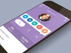 Profile Screen by Ramil (Bluroon)