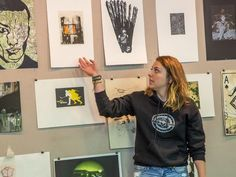 Veteran Print Project mixes art and military service Fine Arts Center, Workshop Organization, Military Service, Art Therapy, Psychology, Medicine, Projects, Psicologia, Log Projects