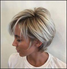 Erstaunlich Kurzhaarfrisuren Graue Haare Damen 23