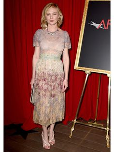 Kirsten Dunst Looks Like a Bohemian Dream in Valentino at AFI Awards – Style News - StyleWatch - People.com