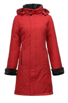 Nuovo Woolrich Arctic Parka 2011 Donna Rosso