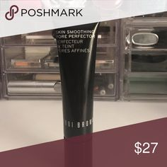 Bobbi Brown Skin Smoothing Pore Perfector! Used a couple times- about 75% of product left! Helps smooth out the look of pores! Bobbi Brown Makeup Face Primer