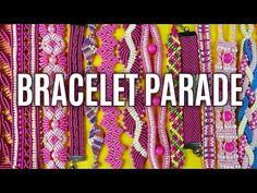 Easy Macramé Flower Bracelet TUTORIAL by Macrame School - YouTube