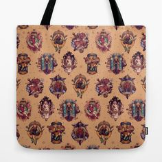 All Those Bright and Shining Companions Tote Bag #doctorwho