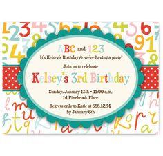 59 Best Abc 123 S Birthday Ideas Images Alphabet Party Alphabet