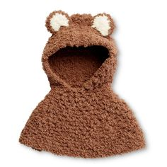 Yarnspirations is the spot to find countless free easy crochet patterns, including the Bernat Bear Cub Poncho, mos. Browse our large free collection of patterns & get crafting today! Crochet Cable, Crochet Hook Set, Crochet Coat, Love Crochet, Crochet For Kids, Easy Crochet, Crochet Children, Crochet Wraps, Crochet Things
